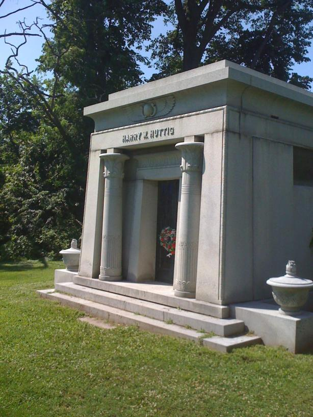 The Harry & Kate Huttig Mausoleum - Not Your Average Tombstone
